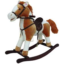 new children rocking horse with sound great traditional toy small