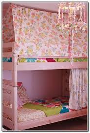 Beautiful Interior Canopy Bunk Bed with | Mandrinhomes.com