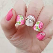 27+ Rose Nail Art Designs, Ideas | Design Trends - Premium PSD ...