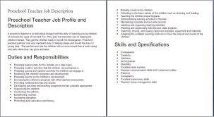 Dance Instructor Job Description Job Description For Dance Instructor Free Resume Templates 1