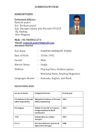 Resum  Resume Example with regard to Resum