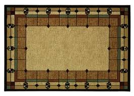 mission style rugs. Art Deco Area Rug, 5x7 Stained Glass Design Arts And Crafts Mission Style Rugs I