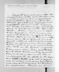 about this collection andrew jackson papers digital letter from andrew jackson to susan decatur 2 1830
