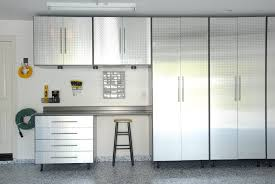 metal garage storage cabinets. custom metal garage cabinets with door and drawer plus mounted hooks for accessories shelf stools storage high ceiling ideas