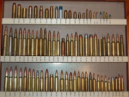 Rifle Bullet Size Chart Comparison Bullet Size Chart Gallery Of Chart 2019