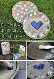 Diy Stepping Stones 46 Best Diy Stepping Stones Images On Pinterest