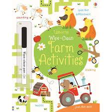 Sách tập viết và vẽ Wipe Clean (có thể xóa được) nhiều chủ đề cho bé