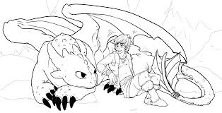 Small Picture How to train your dragon coloring pages toothless and hiccup