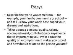 tell me about your family essay  tell me about your family essay