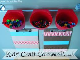 Kids Craft Craft Corner Reveal