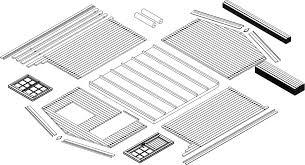 Kesseldruckimprägnierten holzunterleger, zum schutz für den gartenhaus fußboden. Aufbauanleitung Fur Gartenhauser Gartenhaus De