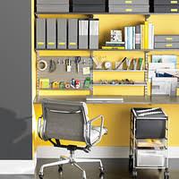 shelves office. driftwood u0026 platinum elfa deluxe home office shelves