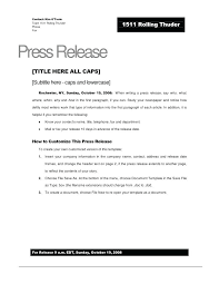 best press release template best press release template demarrer info