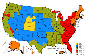 Ups International Shipping Rates Chart Ups Shipping Map From Colorado