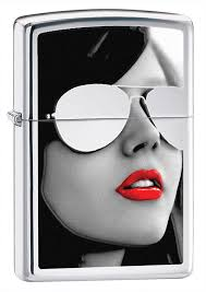 <b>Зажигалка Sunglasses ZIPPO</b> 28274 купить оптом в Москве