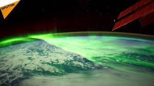 Northern And Southern Lights Stunning Views Of Northern And Southern Lights From Iss