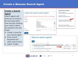 Search For Resumes