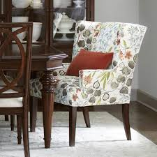 dining room arm chairs upholstered gallery photo seat patterned french country dinette furniture set small table narrow leather kitchen chair pads modern