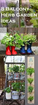apartment herb garden balcony. Fine Apartment Grow Lot Of Herbs On Your Balcony These U0027Balcony Herb Garden Ideasu0027 Will  Solve Problem Lack Space Easily Intended Apartment Balcony W