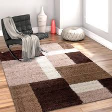 chocolate area rug well woven modern geometric squares brown area rug blue and brown area rug
