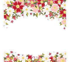 Free Border Downloads For Word Pink Flower Cartoon Download Free Transparent Floral