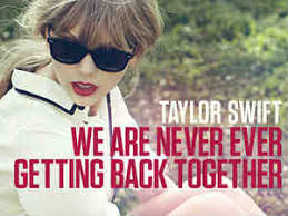 Taylor Swift Itunes Chart Taylor Swift Single We Are Never Ever Getting Back Top