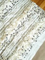 pottery barn moroccan wedding blanket tapestry sequins boho wall hanging rug