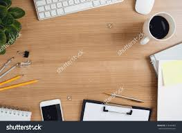 office table top view. Office Desk Top View Stock Photo Image: 58075135y51 Table