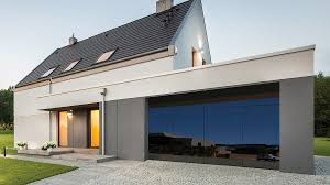 all glass panel garage doors