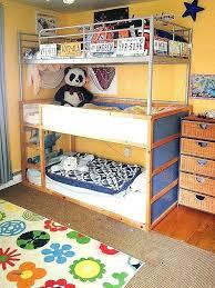Ikea Wooden Bunk Bed Kid Bunk Beds Bunk Bed Lights Beautiful Kids