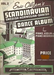 Eric Olzens Scandinavian Dance Album Vol 2 Swedish Norwegian Danish Accordion Songbook