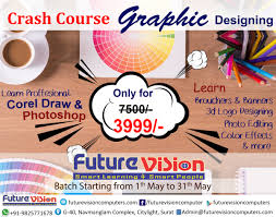 Graphic Design Courses Price Future Vision Offers Best Graphic Design Courses In Surat