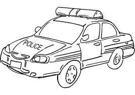 Voiture De Police 10 Transport Coloriages Imprimer