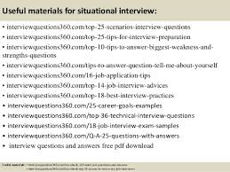 Situational Based Interview Questions Top 10 Situational Interview Questions And Answers