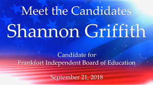 Meet the Candidates (General Election 2018): Independent Board of Education  - Shannon Griffith - YouTube