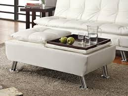 2017 white leather ottoman coffee table 25 ottomans square rectangle