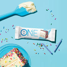 Birthday Cake Protein Bar Guilt Free Protein Bars