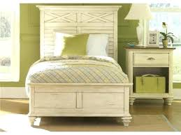 Wicker Twin Platform Bed Daybed Trundle Awesome Rattan Beds White ...