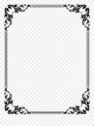 Free Download Vector Clipart Design Library Of Picture Black And White Library Picture Frames