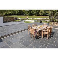 marshalls natural slate riven midnight blue 600 x 295 20mm paving slab pack of patio slabs m4 slabs