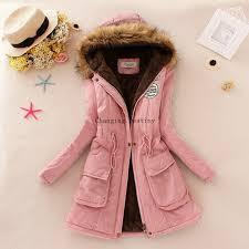 <b>S 3XL Women's</b> Winter Coat <b>Women</b> Fashion <b>Hooded</b> Fur Collar ...