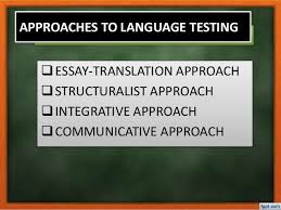 approaches to language testing approaches to language testing 2 approaches to language testing iuml129plusmnessay translation