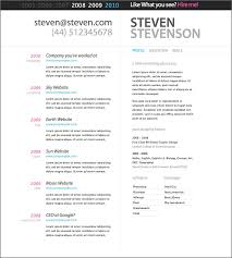 Visual Cv Creating Professional Resume Online Build Resume Online