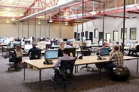 open office concepts. Open Office Design Concepts. The Open-plan Layout At Software Advice Concepts C
