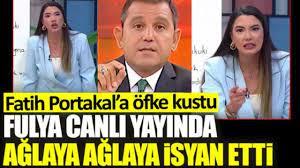 FULYA ÖZTÜRK CANLI YAYINDA ÇILDIRDI - YouTube
