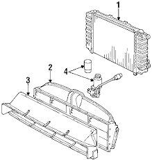 parts com® porsche engine air flaps partnumber 92857595101 1990 porsche 928 gt v8 5 0 liter gas radiator components