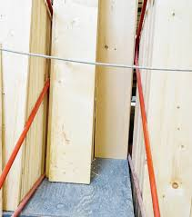 wood to be used in diy pipe shelving project