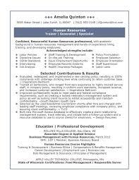 Best Examples Human Resources Associate Job Description Resume