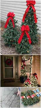 How To Make Outdoor Christmas Tree Out Of Lights 20 Impossibly Creative Diy Outdoor Christmas Decorations