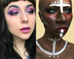 this makeup artist thought it was okay to recreate blackface but look at this ugly ish